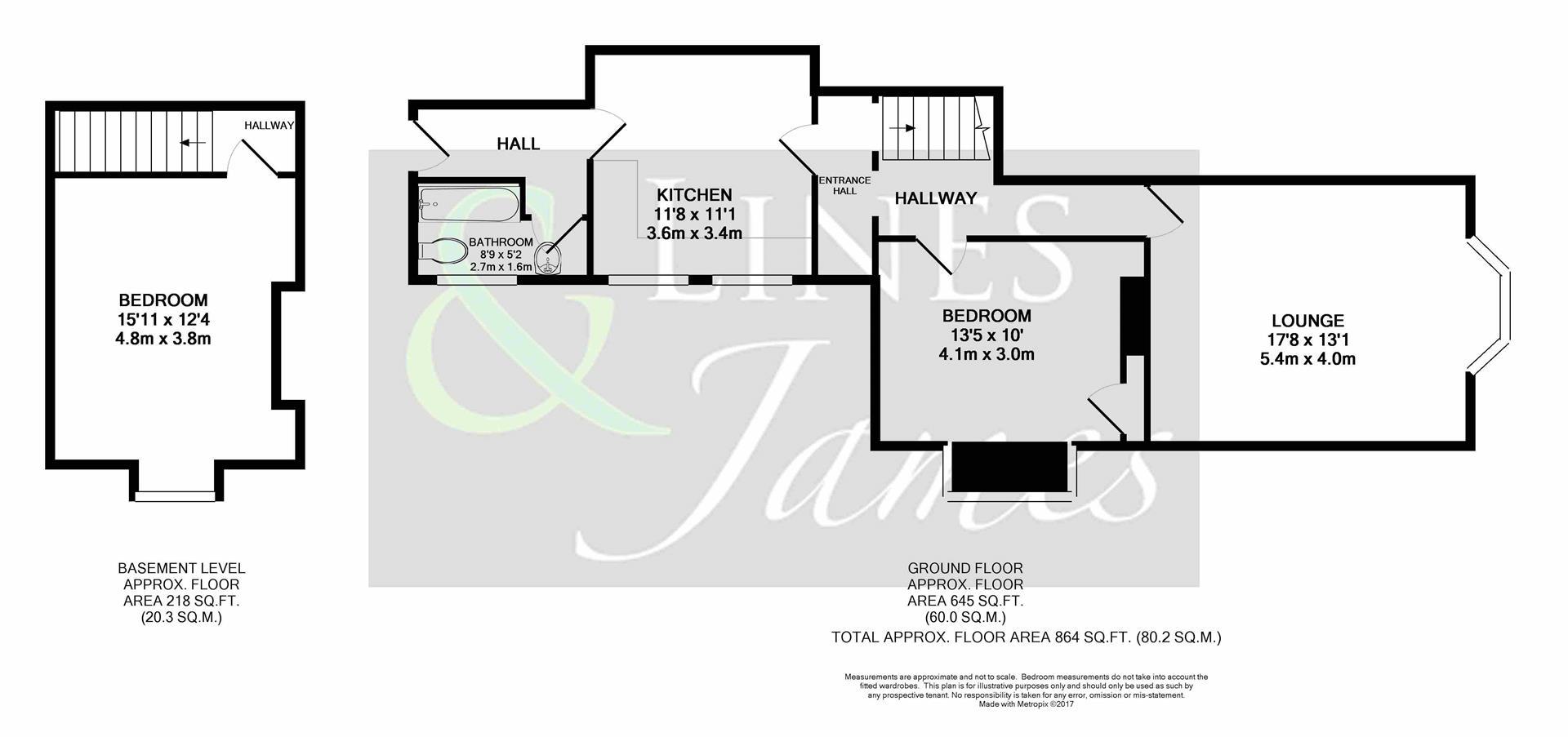 Floorplan for Norfolk Road, Horsham